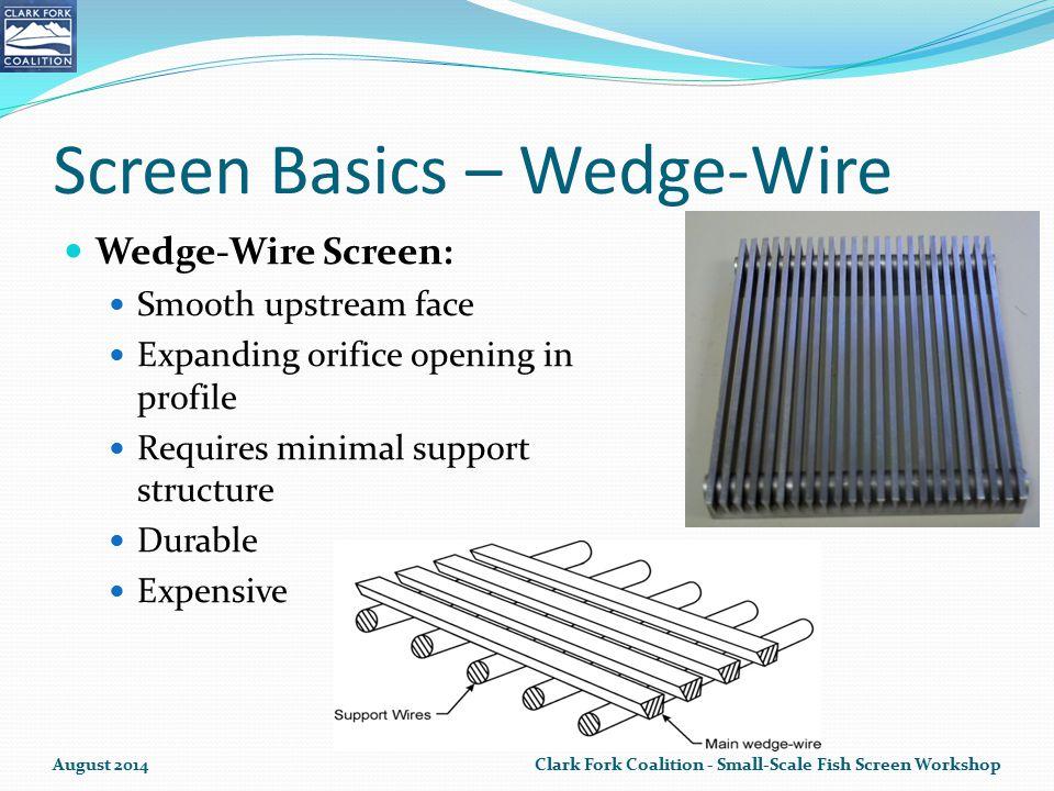 Screen Basics – Wedge-Wire