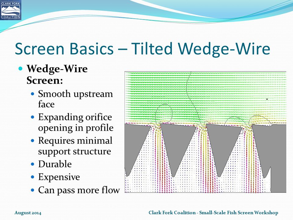 Screen Basics – Tilted Wedge-Wire