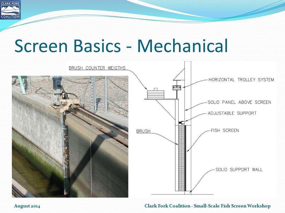 Screen Basics - Mechanical