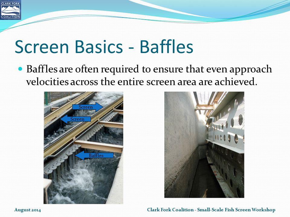 Screen Basics - Baffles