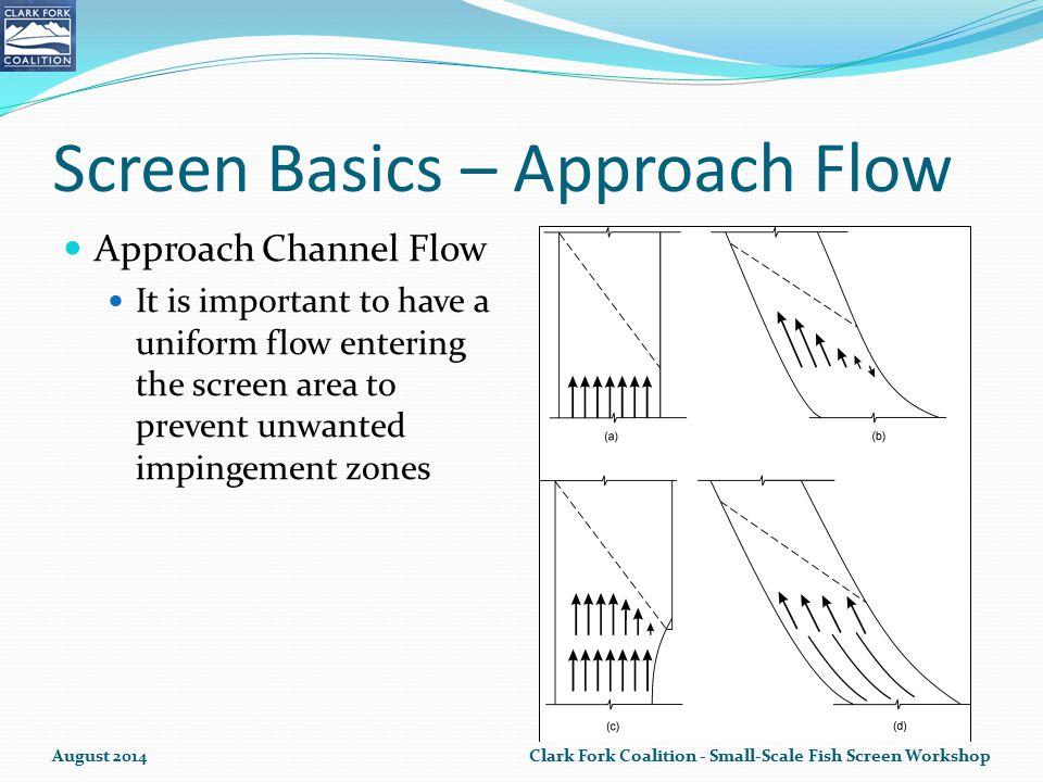Screen Basics – Approach Flow