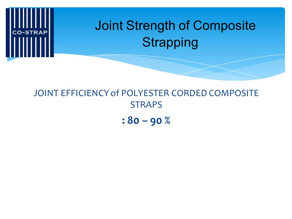 Joint Strength of Composite Strapping