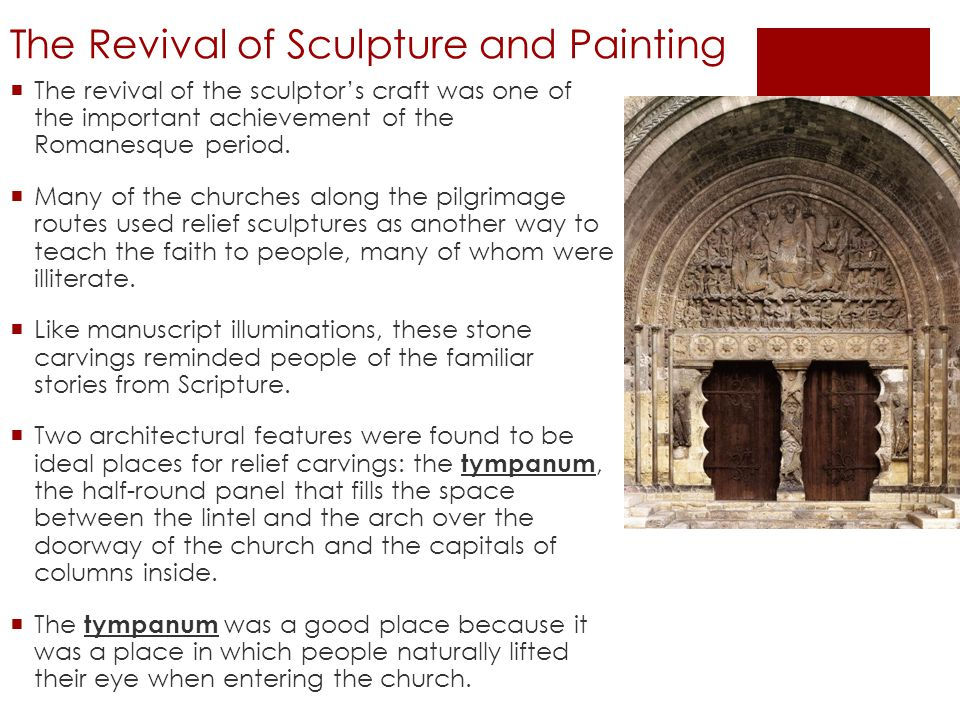 The Revival of Sculpture and Painting