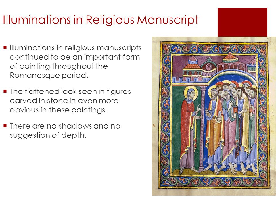 Illuminations in Religious Manuscript
