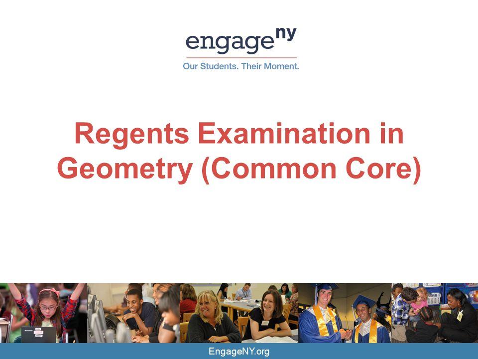 Regents Examination in Geometry (Common Core)