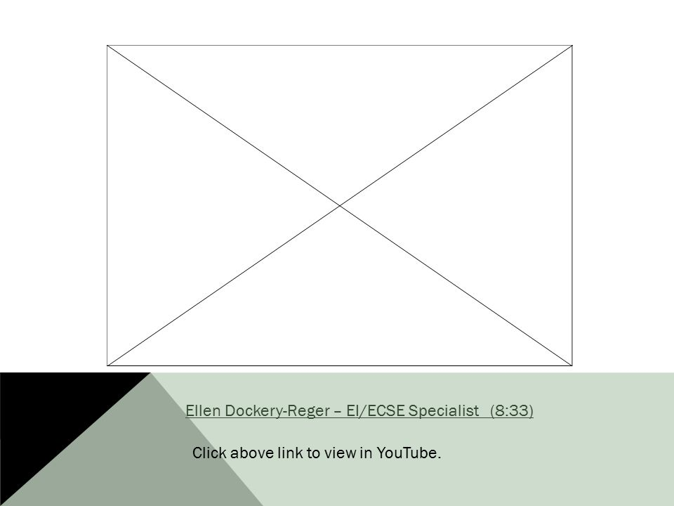 Ellen Dockery-Reger – EI/ECSE Specialist (8:33)