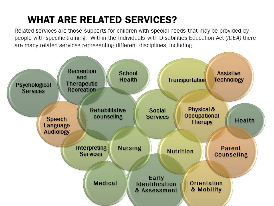 What are Related Services