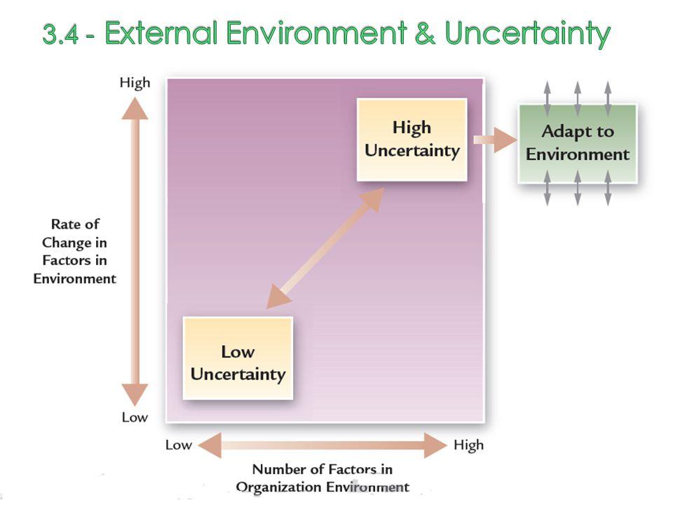 3.4 - External Environment & Uncertainty