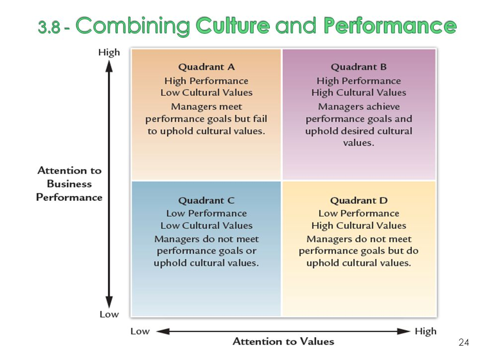 3.8 - Combining Culture and Performance