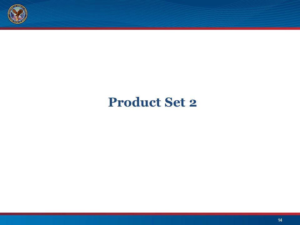 Product Set 2