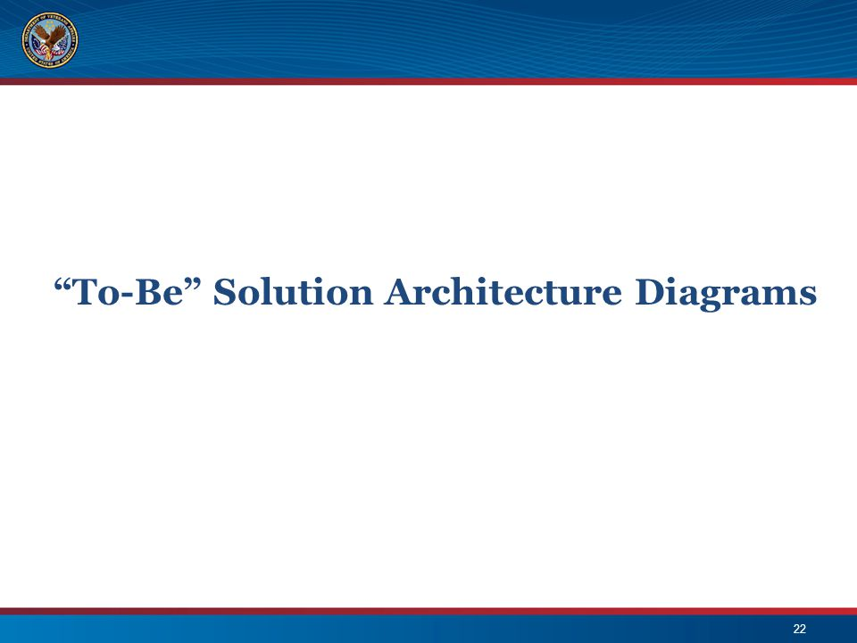 To-Be Solution Architecture Diagrams