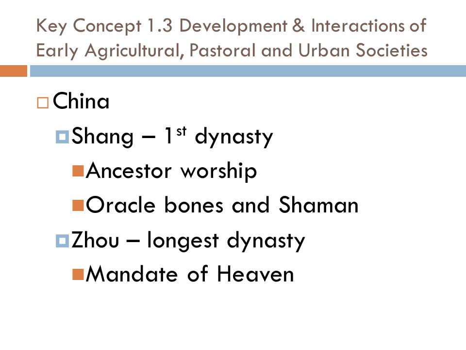 Oracle bones and Shaman Zhou – longest dynasty Mandate of Heaven