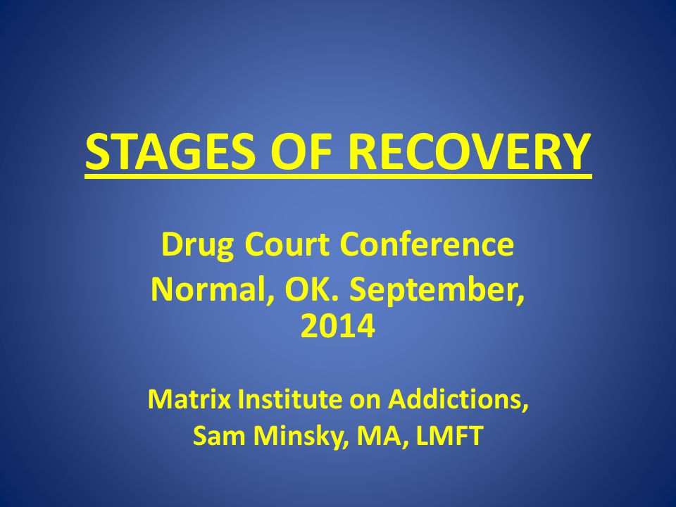 Matrix Institute on Addictions,