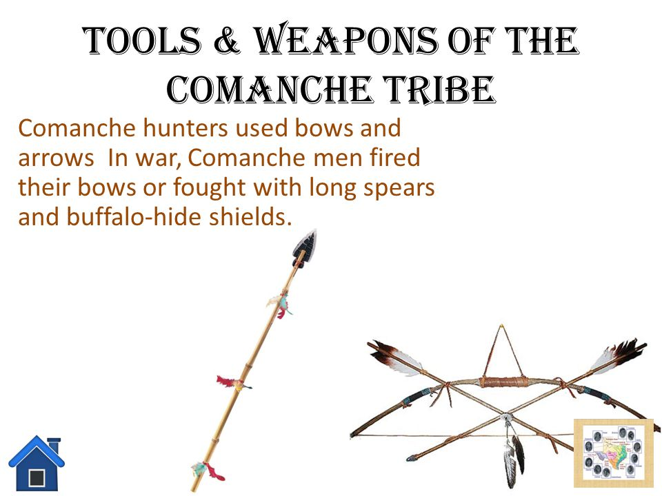 Tools & Weapons of the Comanche Tribe