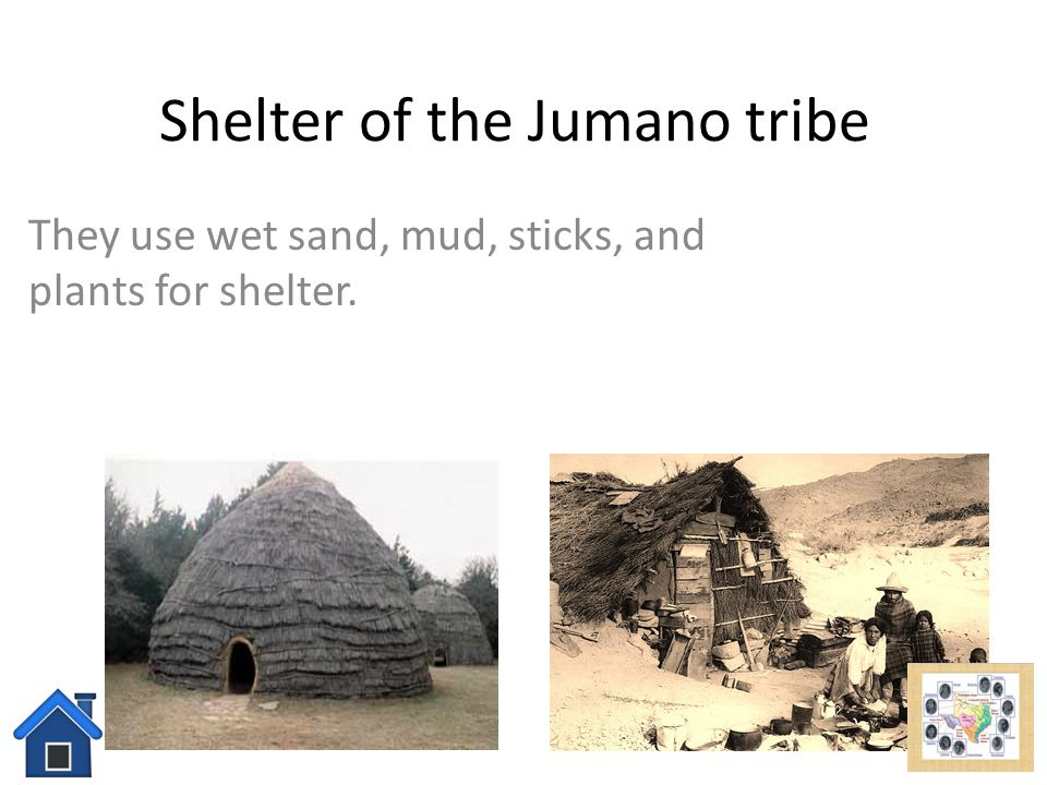 Shelter of the Jumano tribe