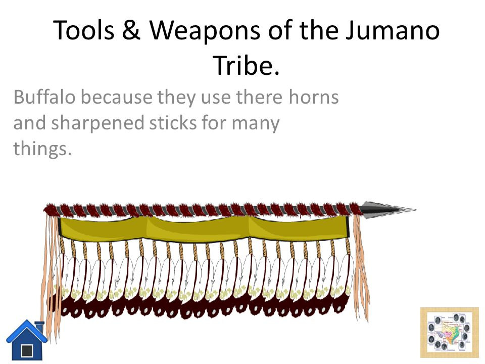Tools & Weapons of the Jumano Tribe.