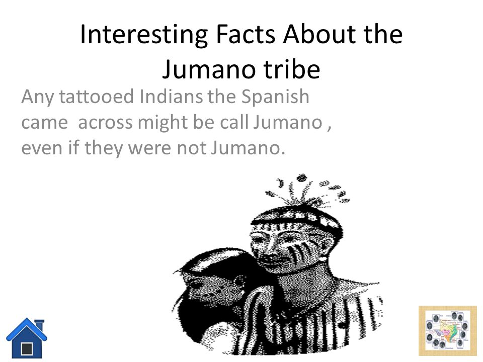 Interesting Facts About the Jumano tribe
