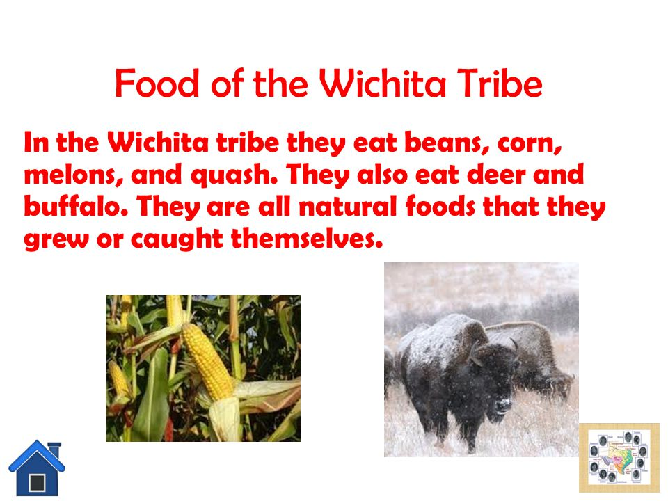 Food of the Wichita Tribe
