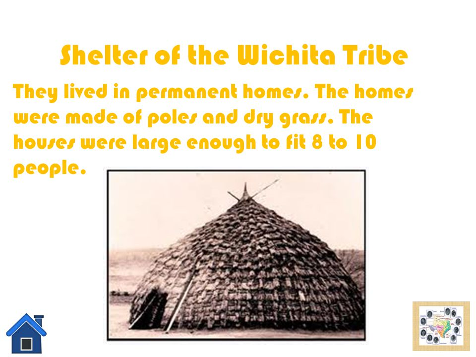 Shelter of the Wichita Tribe