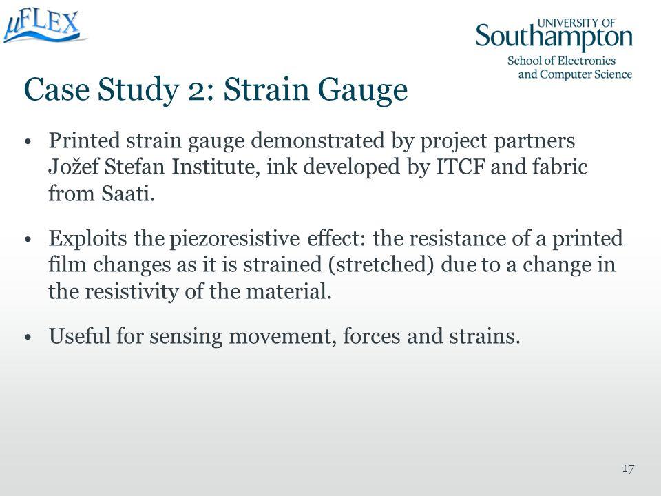 Case Study 2: Strain Gauge