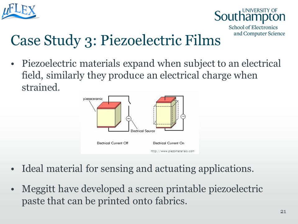 Case Study 3: Piezoelectric Films