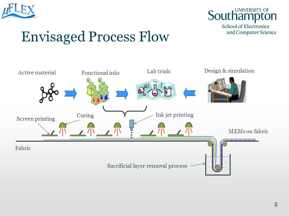 Envisaged Process Flow