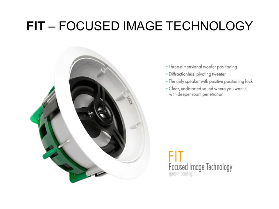 FIT – FOCUSED IMAGE TECHNOLOGY