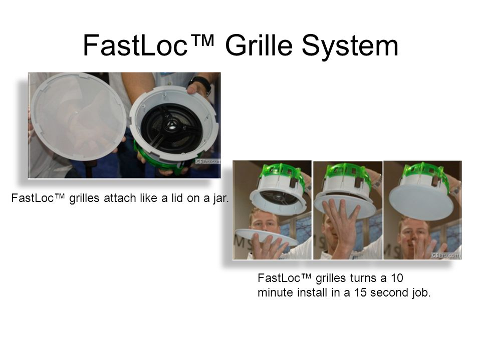 FastLoc™ Grille System