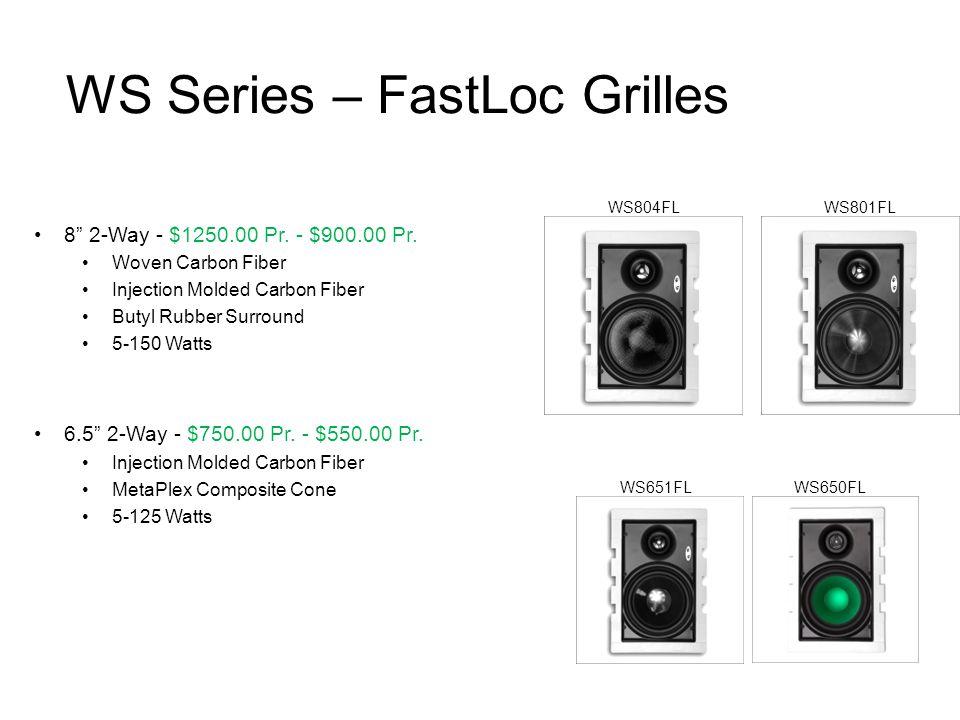 WS Series – FastLoc Grilles