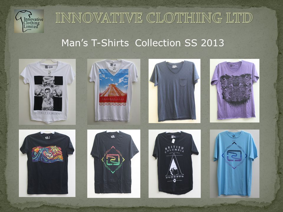 Man's T-Shirts Collection SS 2013