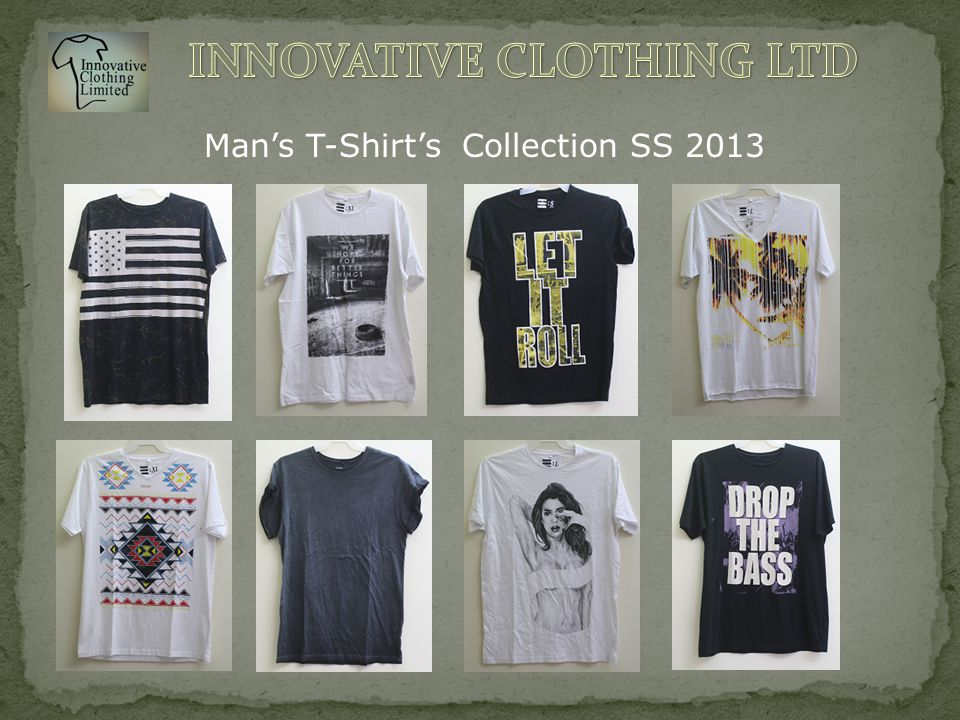 Man's T-Shirt's Collection SS 2013
