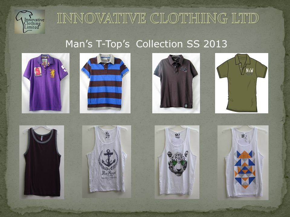 Man's T-Top's Collection SS 2013