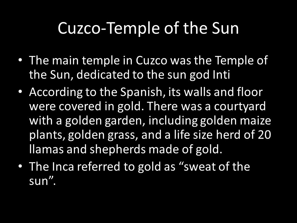 Cuzco-Temple of the Sun