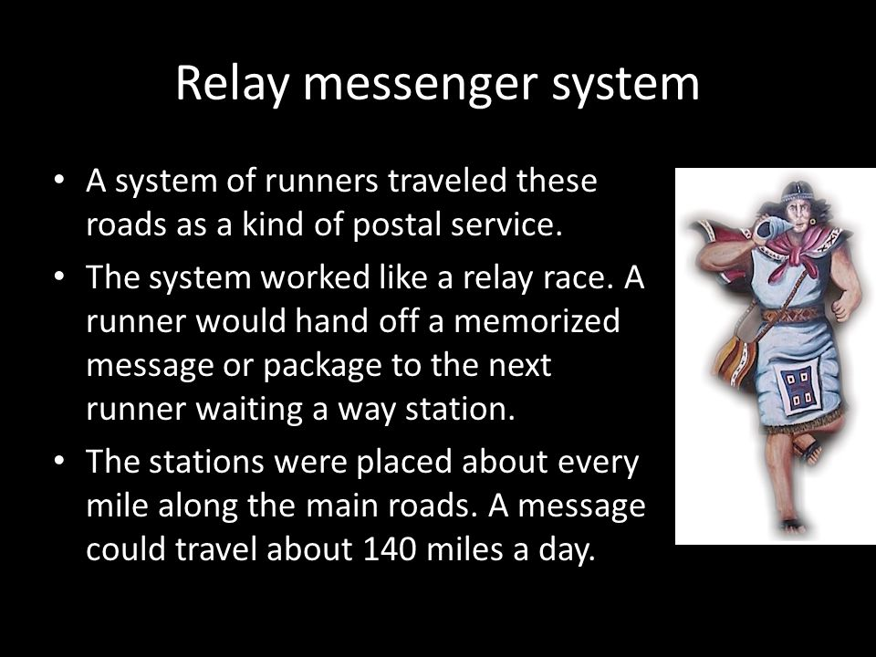 Relay messenger system