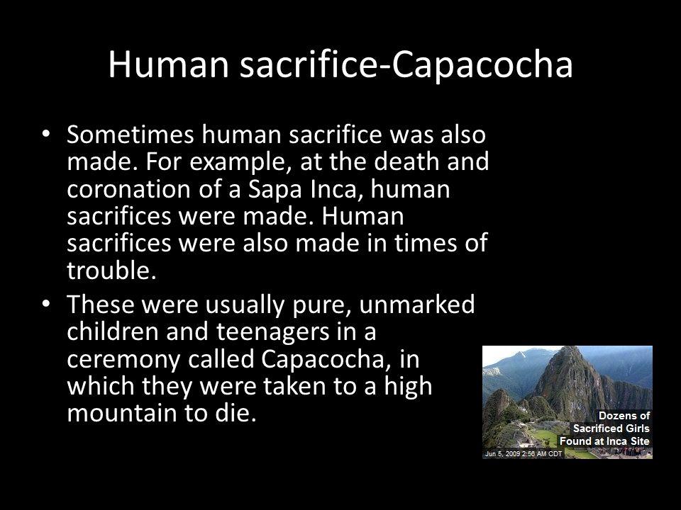 Human sacrifice-Capacocha