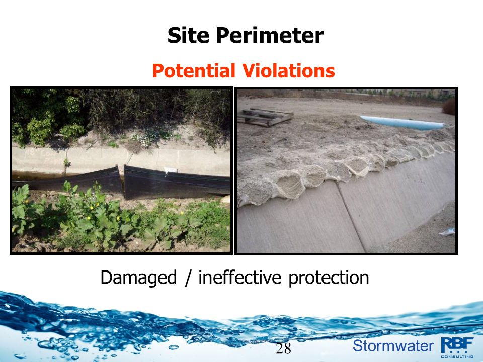 Damaged / ineffective protection