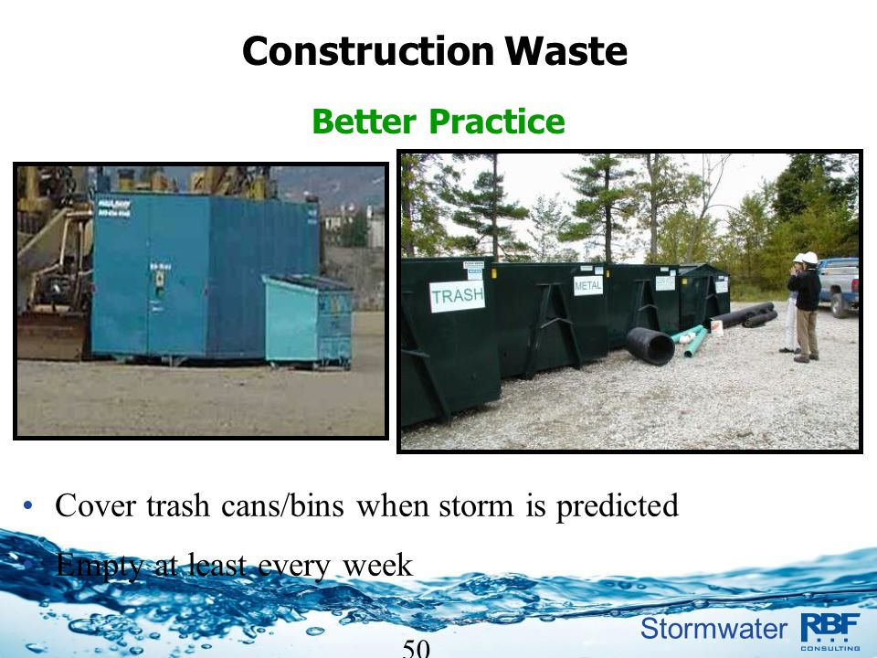 Construction Waste Better Practice