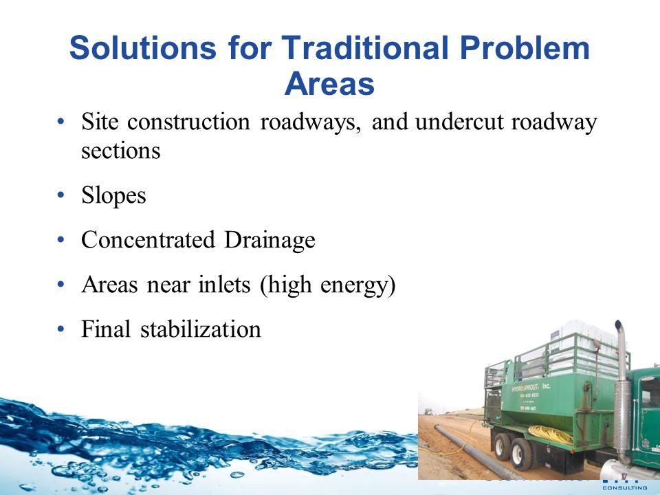 Solutions for Traditional Problem Areas