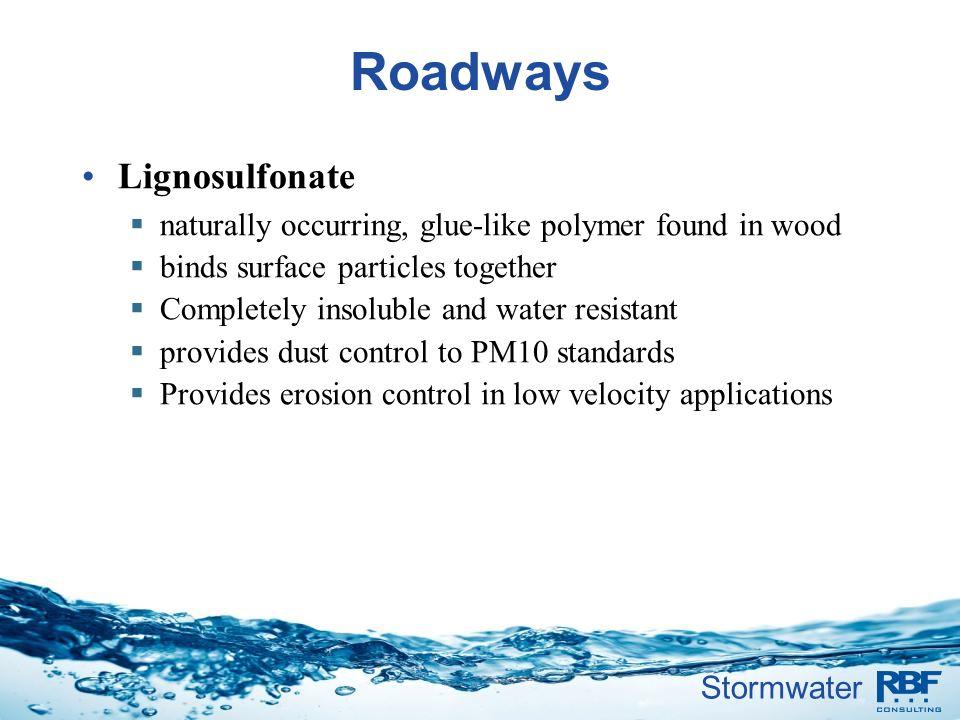 Roadways Lignosulfonate