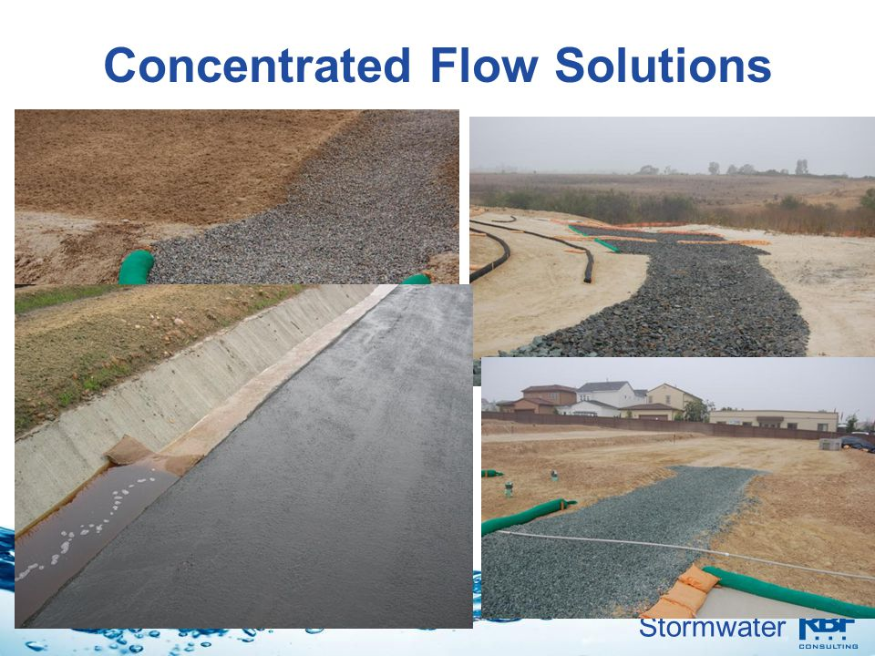 Concentrated Flow Solutions