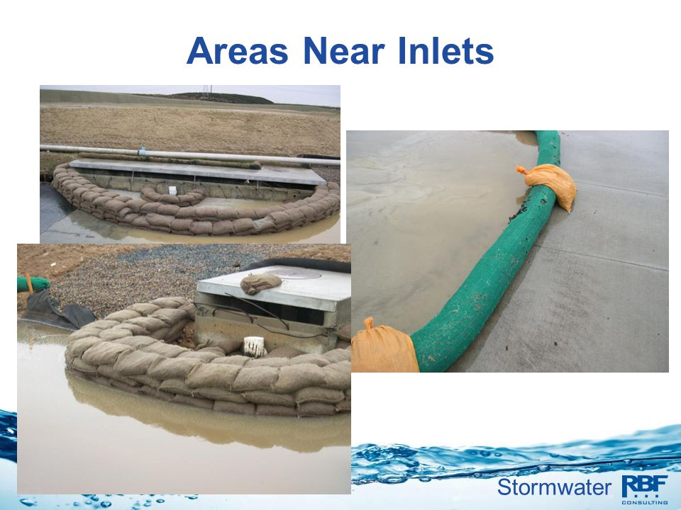 Areas Near Inlets