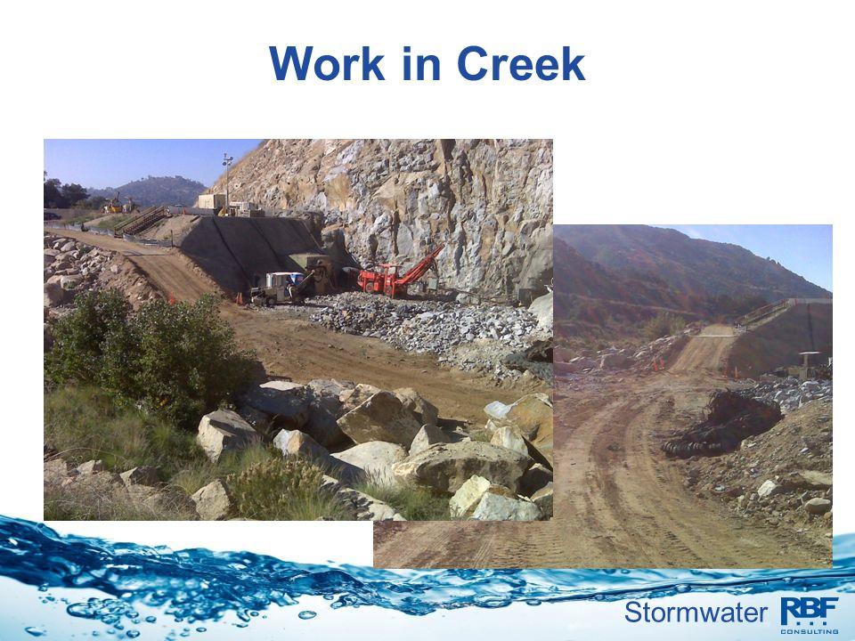 Work in Creek