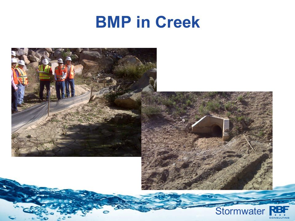 BMP in Creek