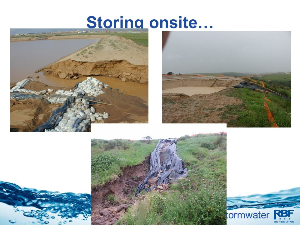 Storing onsite…