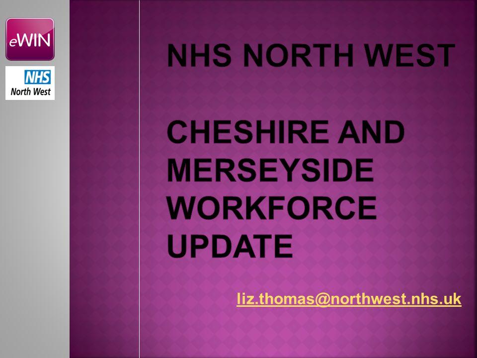 NHS North west CHESHIRE AND MERSEYSIDE WORKFORCE UPDATE