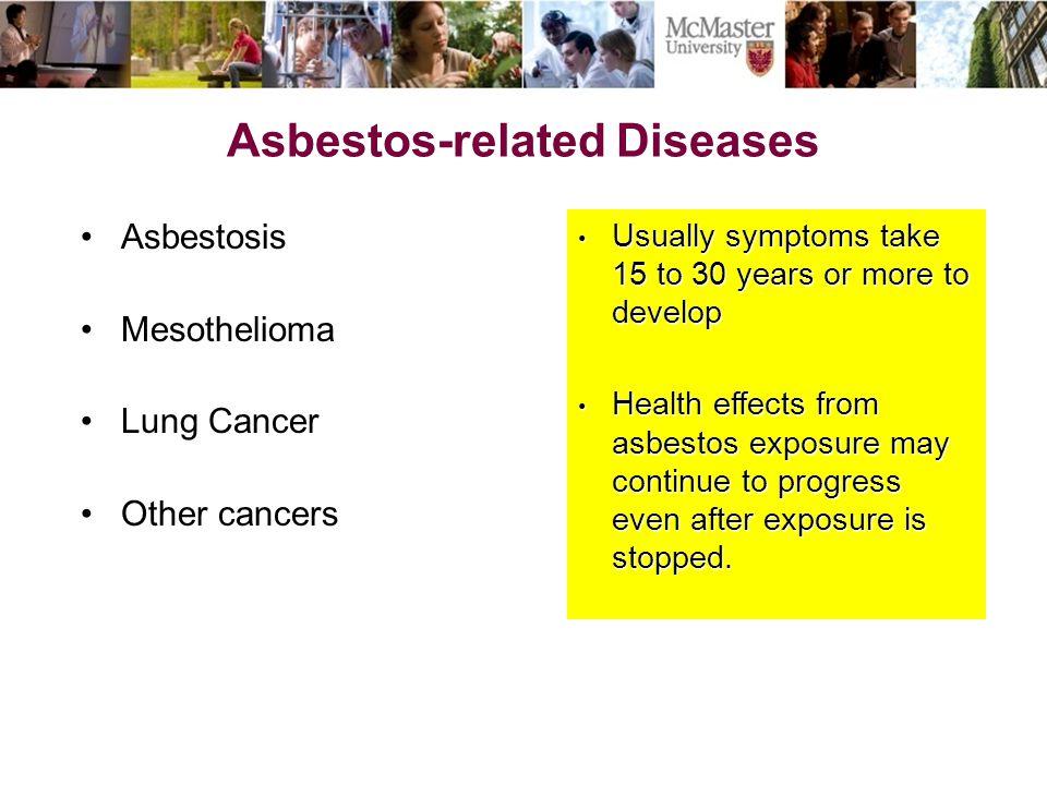 Mcmaster University Asbestos Awareness Ppt Video Online