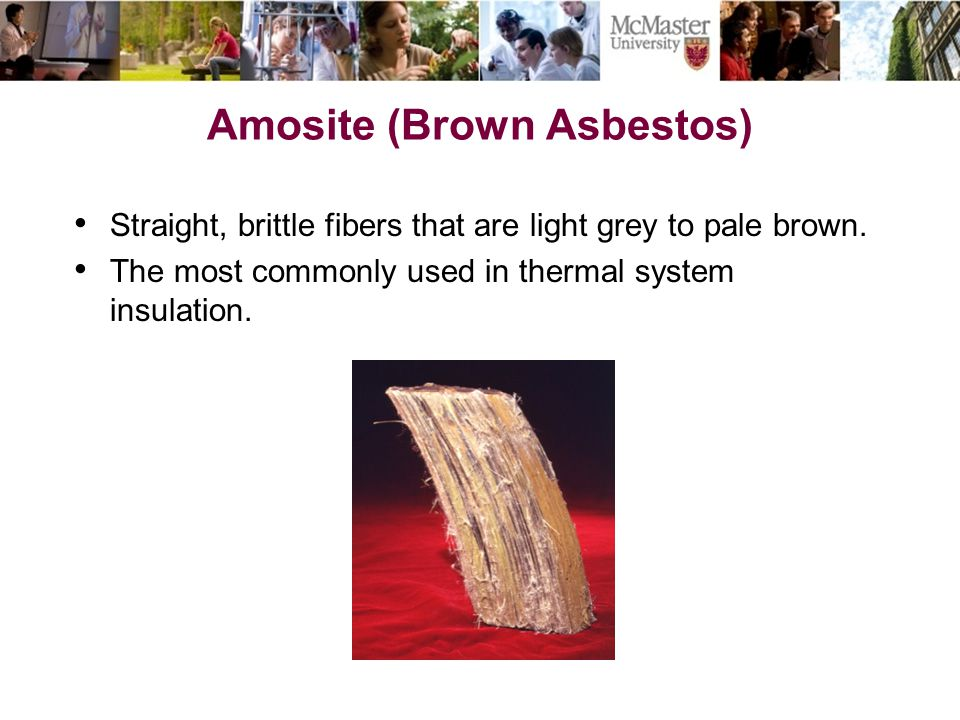 Amosite (Brown Asbestos)