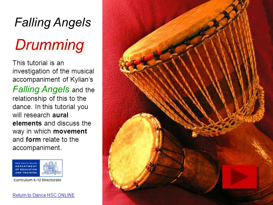 Drumming Falling Angels