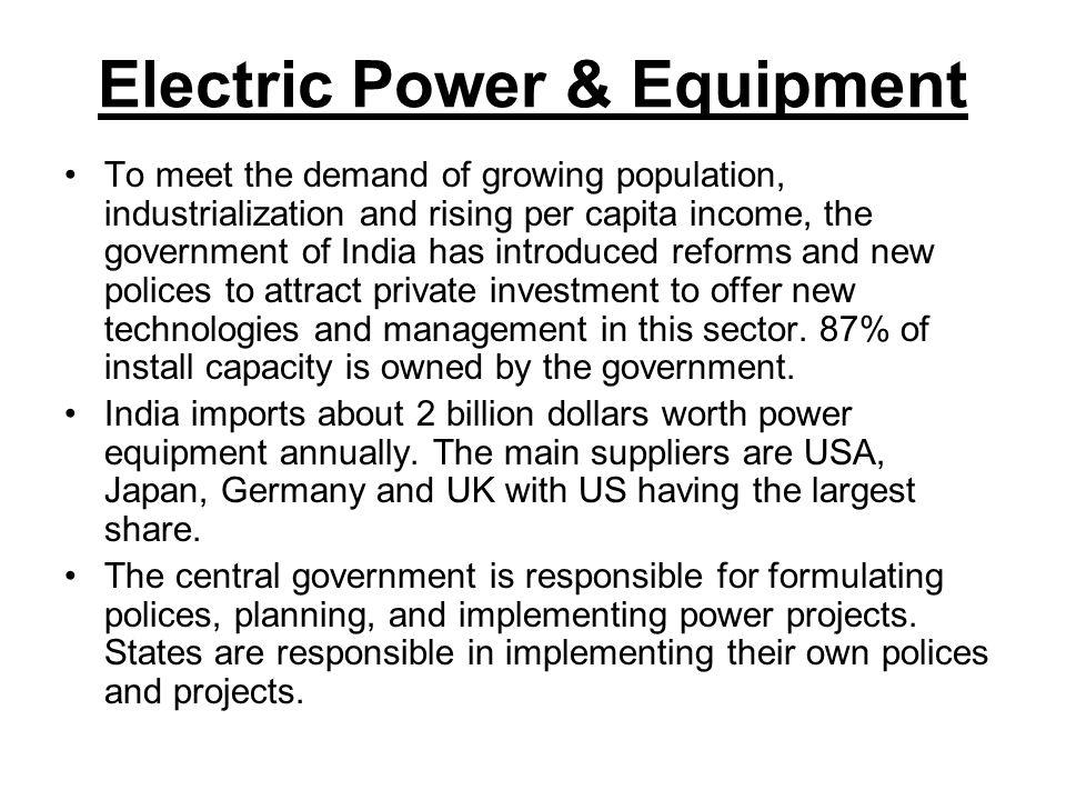 Electric Power & Equipment