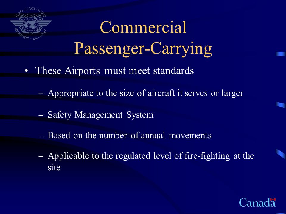 Commercial Passenger-Carrying